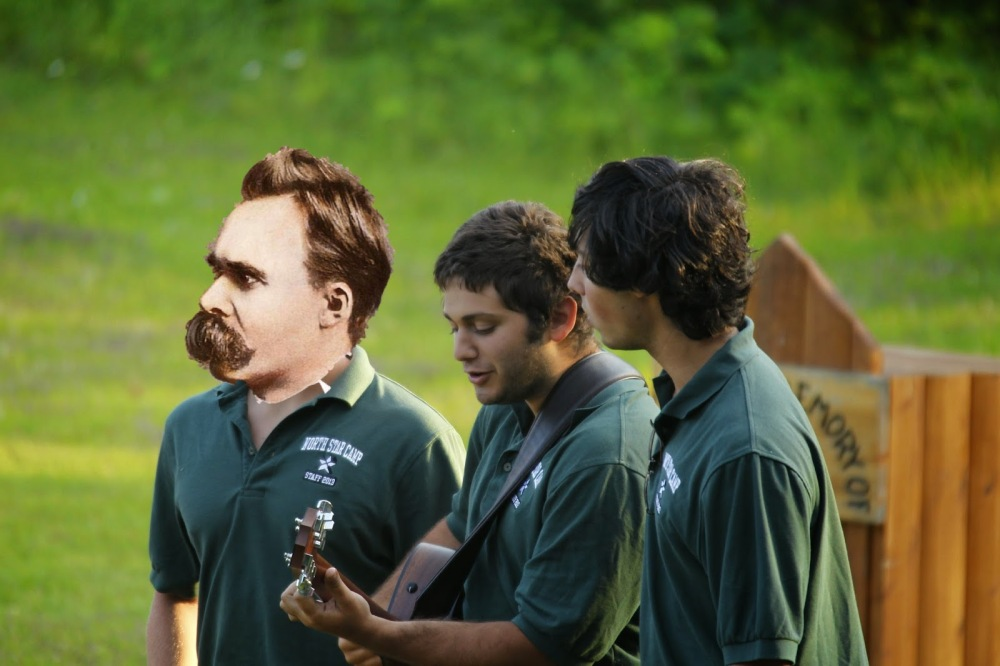 One of Zarathustra's many songs would have made Nietzsche very happy around the campfire.